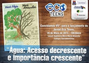 convite_revista_ecoteen Sacramentinas 2015