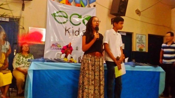 Colégio Municipal Alves de Macedo- Eco Kids 2017- Itanhém